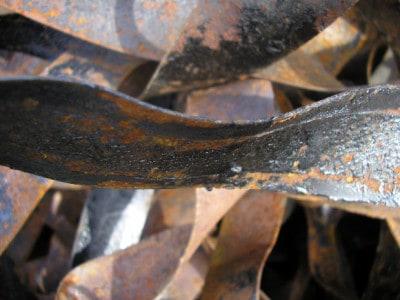 recupero materiale ferroso